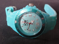 ICE WATCH SMALL TURQUOISE BLUE LADIES WOMENS GIRLS (also have Rolex, Tag, Chanel, Omega, AP, Gucci)