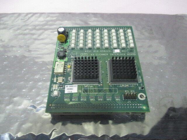LAM 810-059223-313 V3 Cleaner Interlock Board, PCB, 855-059223-312, 415452