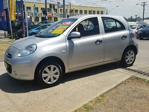 2014 Nissan Micra K13 MY13 ST Silver 5 Speed Manual Hatchback Five Dock Canada Bay Area Preview