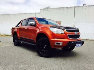 2013 Holden Colorado RG MY14 LTZ (4x4) Orange 6 Speed Automatic Crewcab Beckenham Gosnells Area Preview