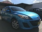 2010 Mazda 3 BL10F1 MY10 Neo Blue 6 Speed Manual Hatchback Cambridge Park Penrith Area Preview