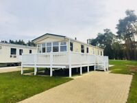 Great value 3 bed static caravan holiday home for sale, luxury park Durham Northumberland Weardale.