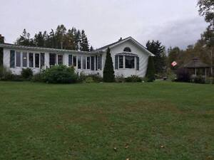 RIVERFRONT PROPERTY & HOME, TABUSINTAC, NB