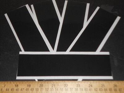 3m 5908 Black Vhb .010super Thin Foam Tape 5 2x8 Strips For Lcd Repair