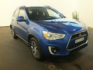 2015 Mitsubishi ASX XB MY15 LS (2WD) Blue Continuous Variable Wagon Clemton Park Canterbury Area Preview