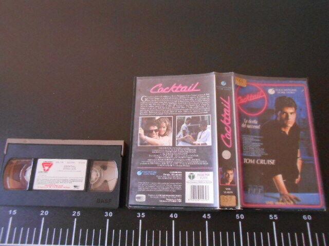 📼 Videocassetta COCKTAIL LA RICETTA DEL SUCCESSO Tom CRUISE VHS 📼