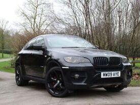 BMW X6 3.0 XDRIVE35D 4d AUTO 282 BHP (black) 2009