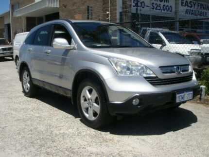 2009 Honda CR-V MY07 (4x4) Sport Silver 5 Speed Automatic Wagon Wangara Wanneroo Area Preview