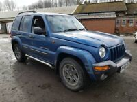 Jeep cherokee sport desil automatic 2.7 spears or repairs