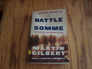 The battle of the somme ISBN- 9780771035166 London Ontario image 1