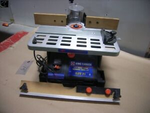 """Good condition king Canada 1/2"""" wood shaper ! *2HP*"""