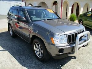 2006 Jeep Grand Cherokee WH Laredo (4x4) Grey 5 Speed Automatic Wagon South Nowra Nowra-Bomaderry Preview
