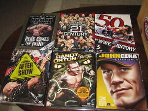 WWE DVDs for sale