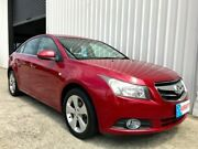 2010 Holden Cruze JG CDX Red 6 Speed Sports Automatic Sedan Parkwood Gold Coast City Preview