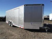 8.5 x 20 + 4 ft Wedge Front ENCLOSED TRAILER **TAX IN PRICES**