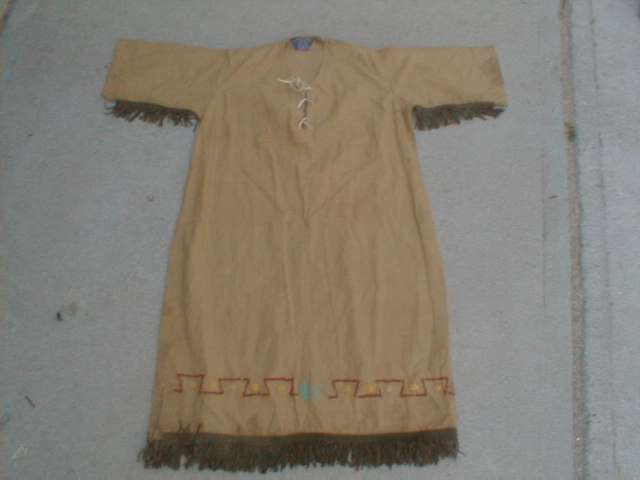 Vintage Camp Fire Girls ceremonial gown.