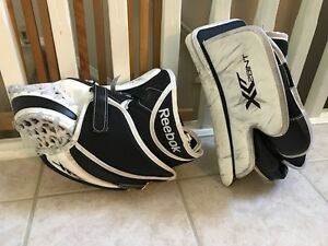Goalie Equip-Peewee,Blocker,Glove,skates,chest,sticks,neck,other