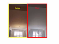 STUCCO CEILING REMOVAL AND FLATTENING