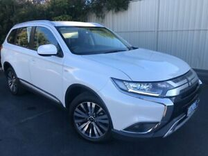 2019 Mitsubishi Outlander ZL MY19 ES AWD White 6 Speed Constant Variable Wagon Devonport Devonport Area Preview