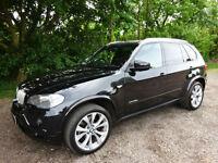 BMW X5 xDrive35d M Sport 2010 / 10 Reg / Sapphire Black / £7k in Oprions /