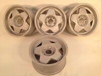 """REMOTEC BORBET A 16"""" 5x120 7,5j deep dish alloy wheels, original, not azev, zender hartge tm"""