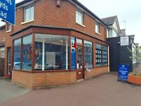 OPEN PLAN SHOP/OFFICE TO LET IN BOURNEMOUTH