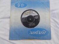 Vinyl 7in 45 Somethin' Else / Boll Wheevil Song – Eddie Cochran London 45 – HLU 8944 Mono 1959