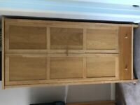 Solid wood wardrobes, drawers & bedside drawers