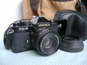 Yashica FX-3 35mm film SLR Camera Film with 50mm lens