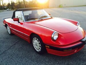 1987 Alfa Romeo Other Convertible