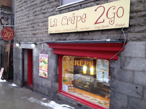 Waitress Needed for a Crêperie in Place-des-Arts
