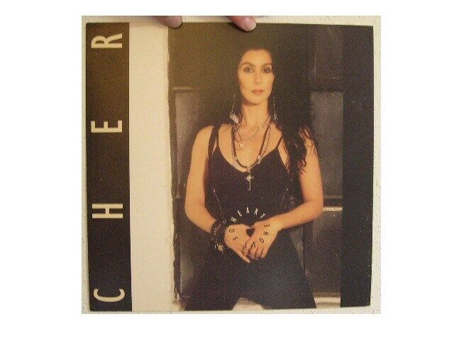 Cher Poster Flat Heart of Stone