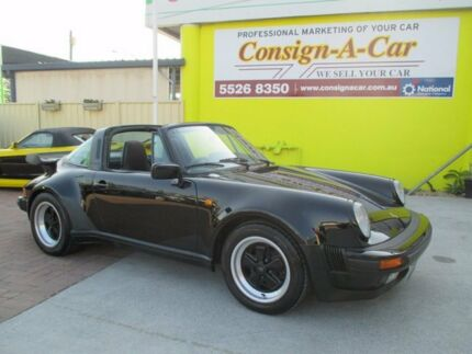 1986 Porsche 911 Carrera Black 5 Speed Manual Targa