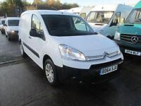 Citroen Berlingo 625 X L1 Hdi 90PS SLD DIESEL MANUAL WHITE (2014)