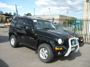 2004 Jeep Cherokee KJ Limited (4x4) Black 4 Speed Automatic Wagon Cambridge Park Penrith Area Preview