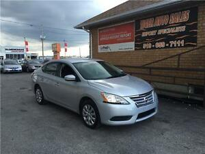 2015 Nissan Sentra****AUTO***BLUE TOOTH****GREAT ON GAS**** London Ontario image 1