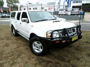2012 Nissan Navara D22 Series 5 ST-R (4x4) White 5 Speed Manual Dual Cab Pick-up Belconnen Belconnen Area Preview
