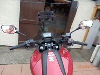 HONDA NC 750 X 2016 RED WITH EXTRAS
