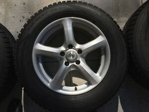 """Nokian winter tires and 17"""" alloy wheels"""