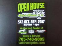 CAT SHACK PETERBOROUGH OPEN HOUSE AND DEMO DAY THIS SATURDAY! Peterborough Peterborough Area Preview