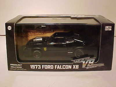 MAD MAX Last of V8 Interceptors 1973 Ford Falcon XB Diecast 1:43 Greenlight 5 in