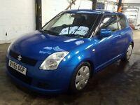 2005 SUZUKI SWIFT GL 1.3 petrol 3 doors 101000mile