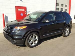 2013 Ford Explorer Limited AWD ~ Nav/SYNC/Backup cam ~ $21,999