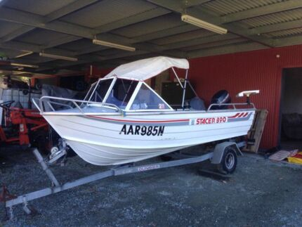 STACER 390 ALUMINUM RUNABOUT Royalla Queanbeyan Area Preview