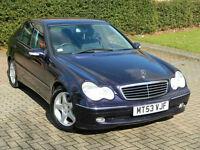 2004 53 Mercedes-Benz C Class 2.1 C220 CDI Avantgarde SE 4dr
