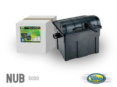 Filteranlage Koi Fisch Teich Filter 6.000 L/h 9W UVC Klärer inkl. Filtermedien