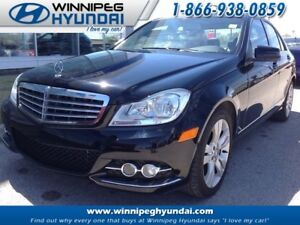 2013 Mercedes Benz C Class Sedan Leather No Accidents