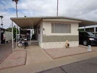 Arizona snowbird mobile home