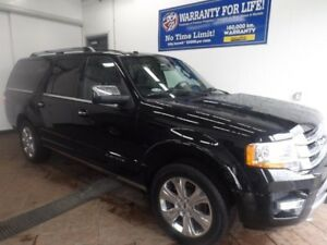 2017 Ford Expedition Max Platinum 4WD LEATHER NAVI SUNROOF