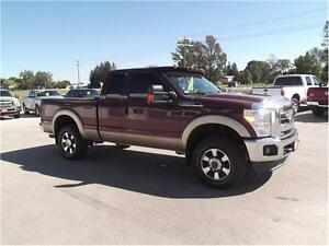 2011 Ford F-250 Lariat,4X4,LEATHER,WELL OILED LOCAL TRADE!! Kitchener / Waterloo Kitchener Area image 3